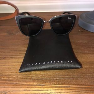 Quay Australia My Girl Cat Eye Sunglasses NWOT